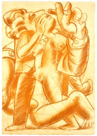 1992-interlude-sanguine-on-paper-24-3x35-cm