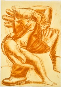 1992-study-for-the-lovers-24-3x35-cm