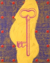 2001-key-oil-on-canvas-32x39-5-inches