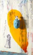 2006-road-to-rome-oil-bronze-ceramic-mixed-media-on-canvas-60x80-cm
