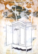 2006-skeleton-in-the-cupboard-gesso-pencil-and-mixed-media-on-canvas-80x60-cm