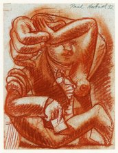 study-for-someone-sanguin-on-paper-17x22cm-1992